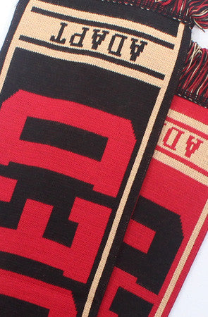Adapt - Gold Blooded Scarf, Red/Gold