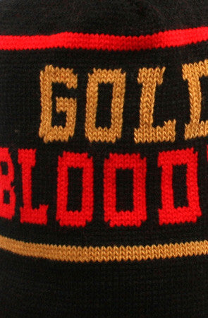Adapt - Gold Blooded Beanie, Black/Red