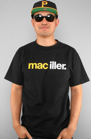 Adapt - Mac Iller Men's Shirt, Black - The Giant Peach