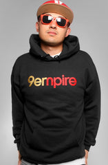 Adapt - Empire Men's Pullover Hoodie, Black - The Giant Peach - 1