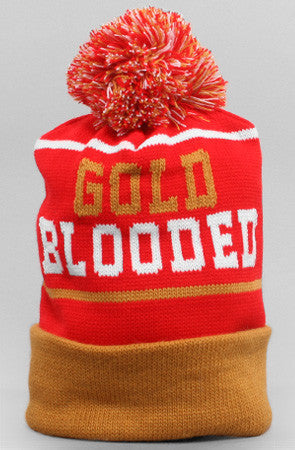 Adapt - Gold Blooded Beanie, Red/Gold