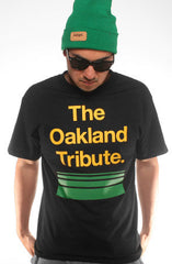 Adapt - The Oakland Tribute Men's Shirt, Black - The Giant Peach
