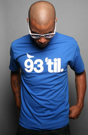 Adapt x Souls of Mischief - 93 'til Infinity Men's Shirt, Royal - The Giant Peach