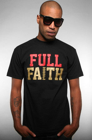 Adapt - Full Faith Men's Shirt, Black/Gold - The Giant Peach - 1