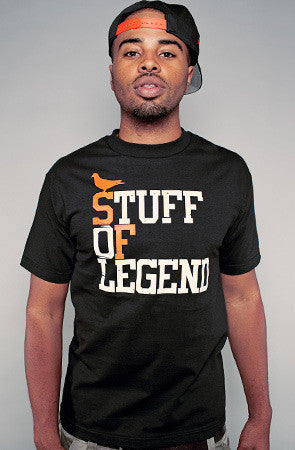 Adapt - Stuff of Legend Men's Shirt, Black - The Giant Peach
