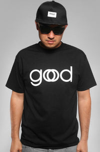 Adapt - Good God Men's Shirt, Black - The Giant Peach