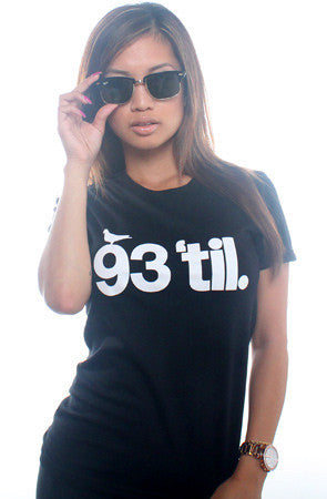 Adapt x Souls of Mischief - 93 'til Infinity Women's Shirt, Black - The Giant Peach