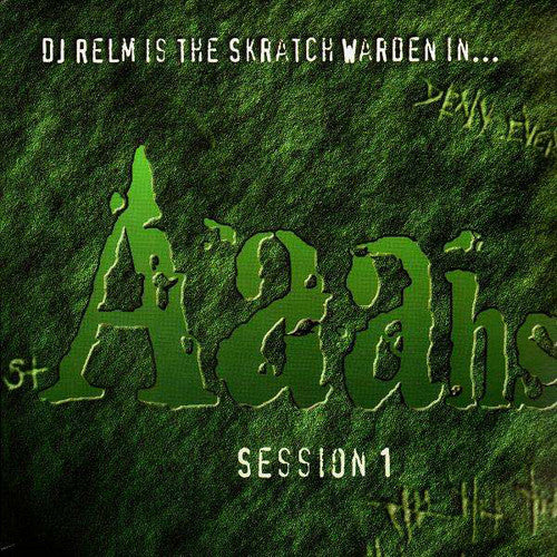 DJ Relm (Mike Relm) - Aaahs Session, LP Vinyl - The Giant Peach