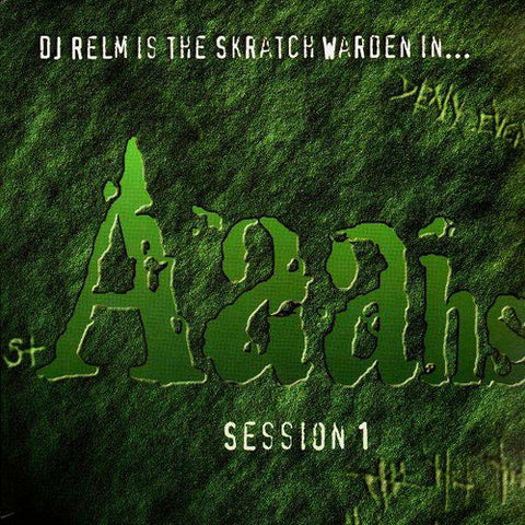 DJ Relm (Mike Relm) - Aaahs Session, LP Vinyl
