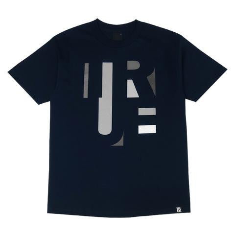 TRUE - Abstract Men's Shirt, Navy