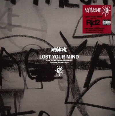 "Aceyalone - Lost Your Mind b/w The Saga Continues, 12"" Vinyl"
