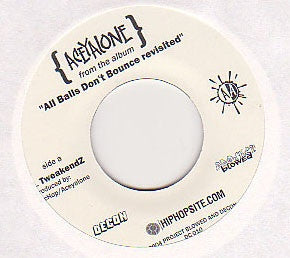 "Aceyalone - TweakendZ/Believe In Yourself, 7"" Vinyl - The Giant Peach"