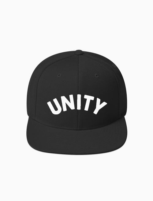 Acrylick - Unity Snapback Hat, Black - The Giant Peach