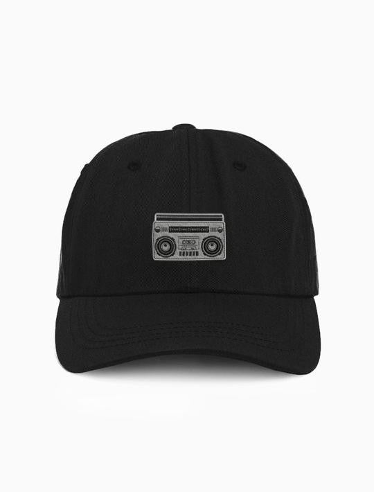 Acrylick - Boombox Dad Hat, Black