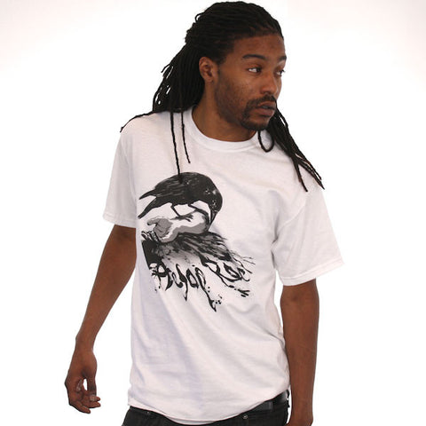 Aesop Rock - Crow Men's Shirt, White