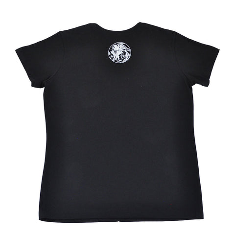 Aesop Rock - Letter A Women's Boy Cut Shirt, Black