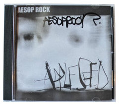 Aesop Rock - Appleseed CD (autographed) - The Giant Peach