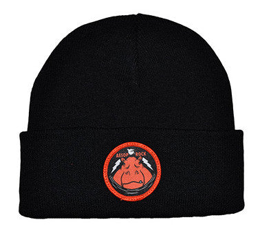 Aesop Rock - Hippo Rock Beanie, Black - The Giant Peach