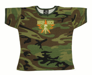 Aesop Rock - Elephant Girls Shirt, Camo - The Giant Peach