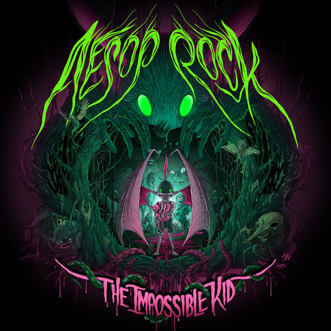Aesop Rock - The Impossible Kid, CD