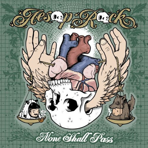 Aesop Rock - None Shall Pass, 2xLP Vinyl - The Giant Peach