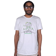 Aesop Rock - Beans Men's Shirt, White - The Giant Peach