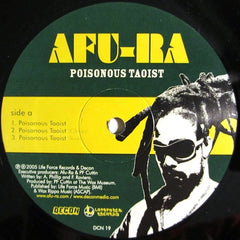 "Afu-Ra - Poisonous Taoist/Sucka Free, 12"" Vinyl - The Giant Peach"