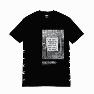 Akomplice - Earth Rights Men's S/S Tee, Black