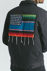 Akomplice - Mi Bandera Men's Jacket, Black