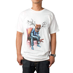 Upper Playground - Alex Pardee Blues Brothers Men's Shirt, White