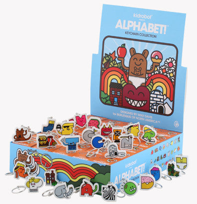 Kidrobot - Alphabet! Keychain (Blind Assortment) - The Giant Peach