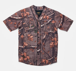 10Deep - Alta Vista Baseball Jersey, Hunting Camo - The Giant Peach