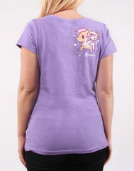 tokidoki - Always Twirling Women's Tee, Lavender - The Giant Peach - 2