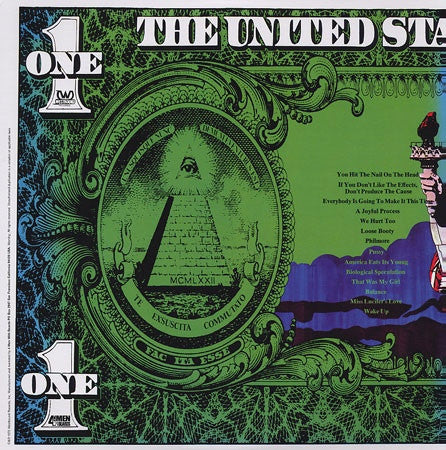 Funkadelic - America Eats Its Young, 2xLP (Turquoise/Purple Vinyl) - The Giant Peach - 2