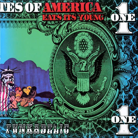 Funkadelic - America Eats Its Young, 2xLP (Turquoise/Purple Vinyl) - The Giant Peach - 1
