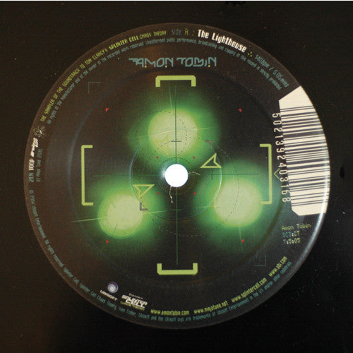 "Amon Tobin - The Lighthouse, 12"" Vinyl - The Giant Peach"