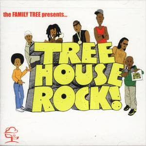 Family Tree - Tree House Rock, CD - The Giant Peach