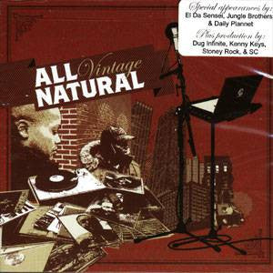 All Natural - Vintage, CD - The Giant Peach