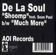 "De La Soul - Shoomp feat Sean Paul 12"" vinyl - The Giant Peach"