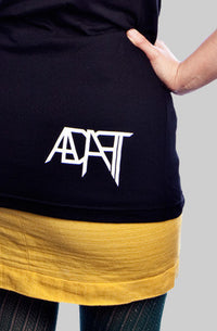 Adapt - Misfit Classic Women's Tee, Black - The Giant Peach