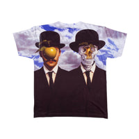 Popaganda by Ron English - Apple & Afterlife Men's Sublimated Tee - The Giant Peach