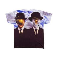 Popaganda by Ron English - Apple & Afterlife Men's Sublimated Tee - The Giant Peach - 2
