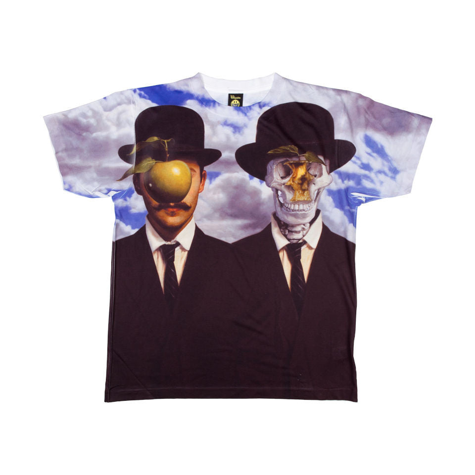 Popaganda by Ron English - Apple & Afterlife Men's Sublimated Tee - The Giant Peach - 1