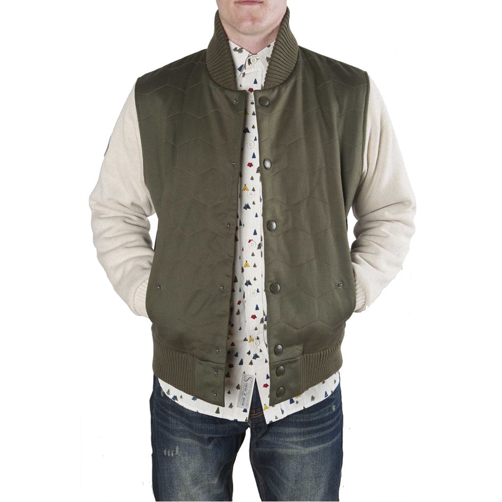 Staple - Arcadia Men's Twill Jacket, Terrain - The Giant Peach