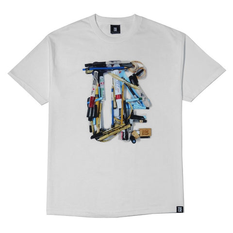 TRUE - Art School Men's Shirt, White