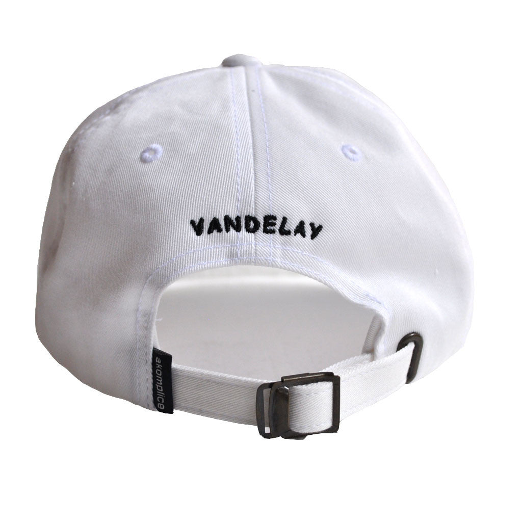 Akomplice VSOP - Art Vandelay Dad Hat, White - The Giant Peach - 3