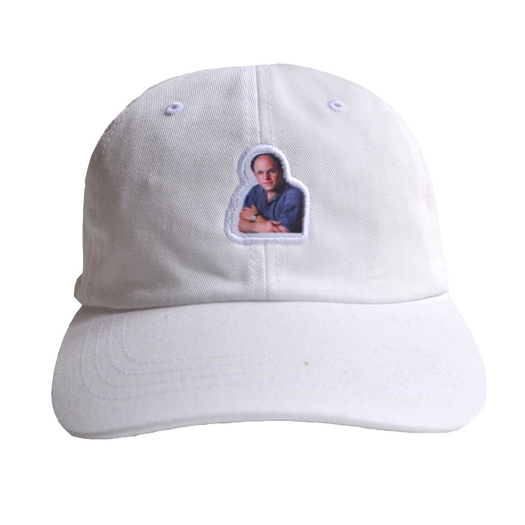 Akomplice VSOP - Art Vandelay Dad Hat, White - The Giant Peach