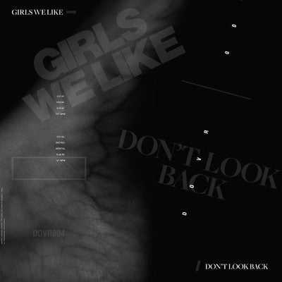 "Do-Over Vol 4 Girls We Like - Don't look Back, 10"" Vinyl - The Giant Peach"
