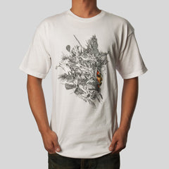 FIFTY24SF x David Choe - Ash Girl Men's Shirt, White - The Giant Peach