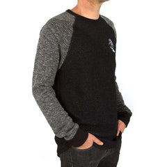 Imaginary Foundation - Astrosurfer Crewneck Sweatshirt, Black - The Giant Peach - 2